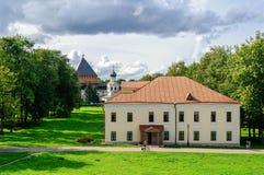 Building Umpire town in the Novgorod Kremlin Stock Image
