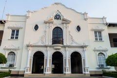 Building of UNAN Universidad Nacional Autonoma de Nicaragua in Leon, Nicaragu. A royalty free stock photos
