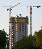 Building under construction. A building in berlin under construction Stock Photography