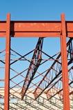 Building Under Construction. A new school building under construction Stock Images