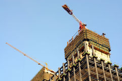 Building under construction. In china Stock Photo