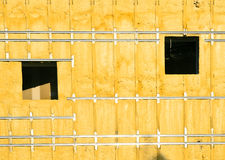 Building under construction. Tudela in Navarre, Spain. In November 2011. Building the new courts are being built stock images