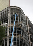 Building under construction. A new building under construction Royalty Free Stock Photo