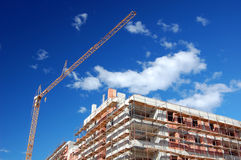 Building under construction Royalty Free Stock Images