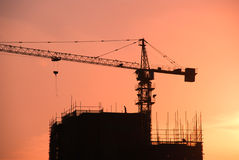 Building under construction. A building isunder construction in foshan, guangdong ,south china Stock Photos