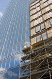 Building under construction. A close up of a building under consruction Royalty Free Stock Photography