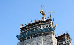 A building under construction Stock Photography