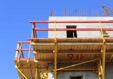 A building under construction Royalty Free Stock Photo