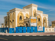 Building under construction in Dubai, United Arab Emirates Stock Image