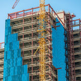 Building under construction Royalty Free Stock Photos