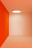 Orange room Royalty Free Stock Photos