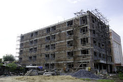 Building. The building under construction is not finished Royalty Free Stock Photos