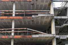 Building under construction residential house Stock Photos