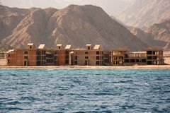 Building under construction Sinai, Egypt Stock Image