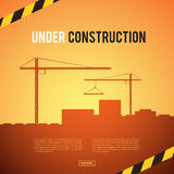 Building under Construction site Royalty Free Stock Images