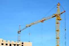 Free Building Under Construction With Crane Stock Photos - 84696523