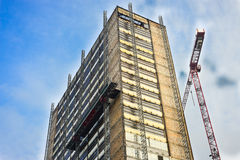 Building Under Reconstruction Royalty Free Stock Images