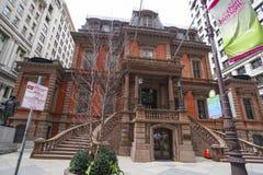 Building of the Union League of Philadelphia - PHILADELPHIA - PENNSYLVANIA - APRIL 6, 2017. Building of the Union League of Philadelphia - PHILADELPHIA Stock Image