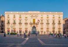 Building the University of Catania Royalty Free Stock Photos