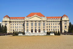 Building of the university, Debrecen, Hungary Stock Image