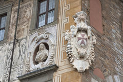 Building of University on Piazza dei Cavalieri in Pisa Stock Photography