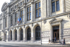 Building of university Sorbonne Royalty Free Stock Images