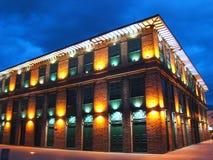 Building Vázquez de Recovered Medellin Imagen de archivo