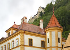 Building in Vaduz. Principality of Liechtenstein Stock Photo