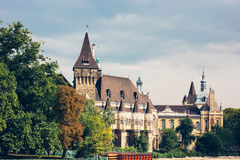 The building of Vajdahunyad castle, Budapest Stock Image
