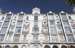 Building in Valladolid Royalty Free Stock Image