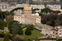 Building of Vatican radio and tv offices Stock Photo