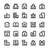 Building Vector Icons 3 Royalty Free Stock Images