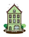 Building. Vector illustration of a building, file EPS 8 Vector Illustration