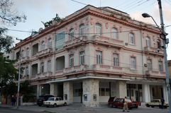 Building in Vedado, Havana Royalty Free Stock Photo