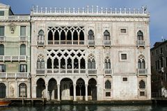 Building of Venice Italy Stock Photography