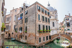 Building in Venice, Italy. Royalty Free Stock Photos