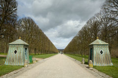 Building in Versailles Parc Royalty Free Stock Image