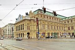 Building of Vienna State Opera House, Austria Royalty Free Stock Image