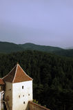 Building , view, Nature, Lansdcape. Beautiful  view  from Transylvania, Romania Stock Images