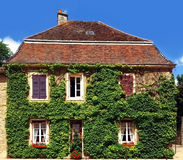 Building in the village of Provence, France Royalty Free Stock Photo