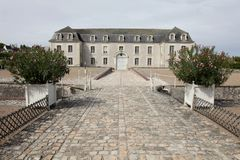 Building in Villandry Chateau Royalty Free Stock Image