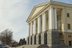 Building of the Volgograd musical theatre Stock Photography