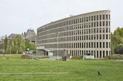 The Building of the VUB in Brussels Royalty Free Stock Image