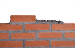 Building a wall. Stock Photography