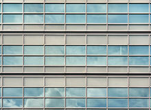 Building wall glass Royalty Free Stock Image