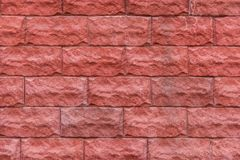 Building wall with red stock photography