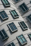 Building wall with windows. Modern building wall with windows Stock Images