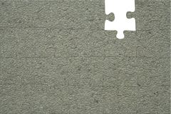 Building Walls. Concept Puzzle Stock Image