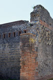 Building Walls, Pompeii Archaeological Site, nr Mount Vesuvius, Italy Royalty Free Stock Photography