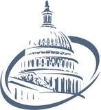 Building of Washington Stock Image